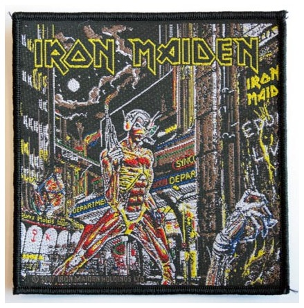 Iron Maiden - Somewhere In Time - Tygmärke