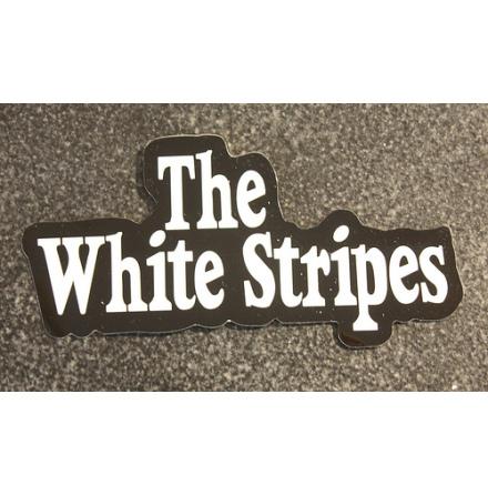 The White Stripes - Logo - Klistermärke