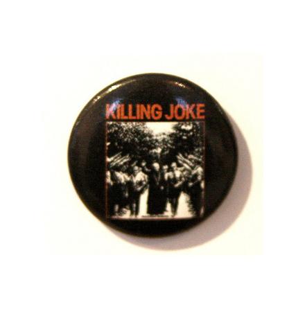 Killing Joke - B&W - Badge