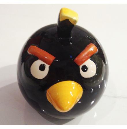 Angry Bird - Sparbössa - Svart