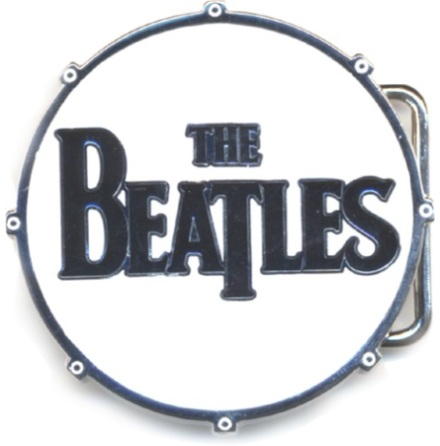 Beatles - Drum - Belt Buckle