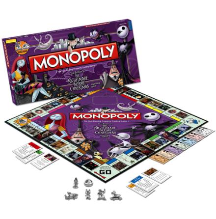 Nightmare Before Christmas - Monopoly