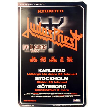 Judas Priest - Reunited - Poster