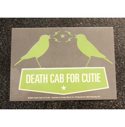 Death Cab For Cutie - Klistermärke