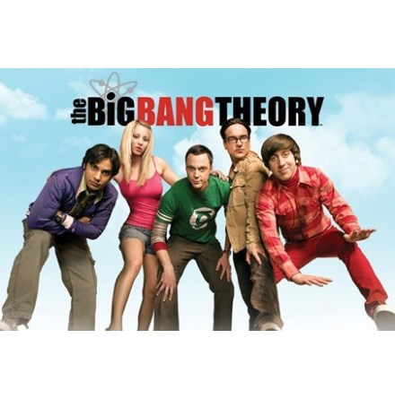 The Big Bang Theory - Sky - Poster