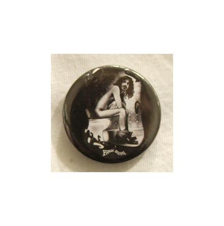 Frank Zappa - On Toilett - Badge