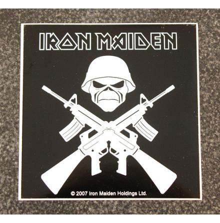 Iron Maiden - Guns - Klistermärke