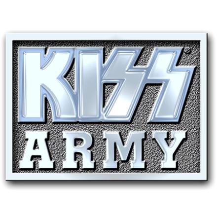 Kiss - Army Pennant - Pin