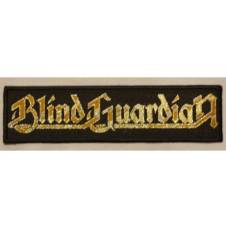 Blind Guardian - Gold Logo - Tygmärke