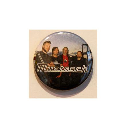Mustasch - Bandbild - Badge