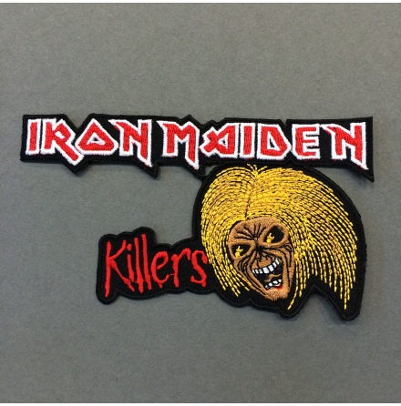 Iron Maiden - Killers - Tygmärke