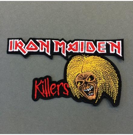 Iron Maiden - Killers - Tygmärke
