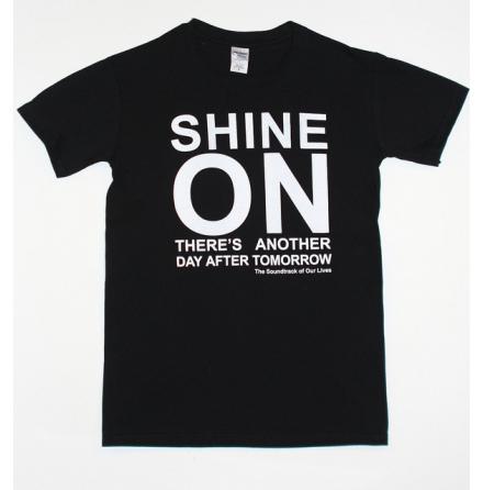 T-Shirt - Shine On - Svart