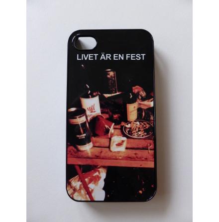 """iPhone 4/4s-skal """"Livet är en fest"""""""