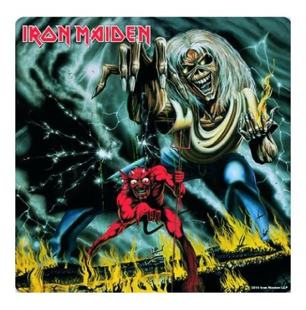 Iron Maiden - Coaster - Number of the Beast