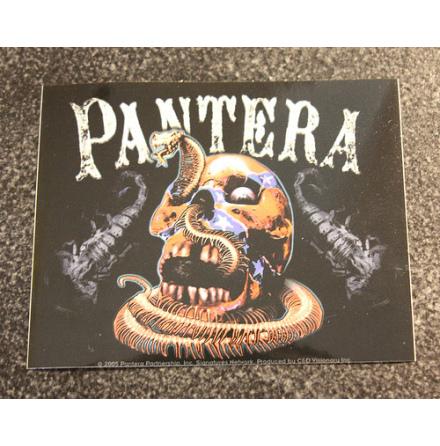Pantera - Snake Skull - Klistermärke