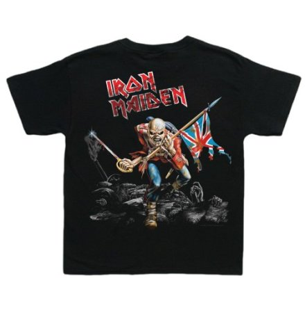 Barn T-Shirt - Iron Maiden - Trooper