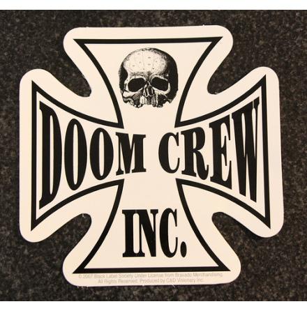 Black Label - Doom Crew - Klistermärke