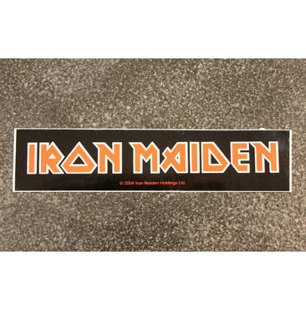 Iron Maiden - Logo - Klistermärke