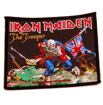 Iron Maiden - The Trooper - Tygmärke