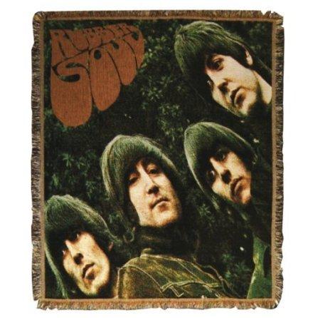Beatles - Rubber Soul - Vävd Filt