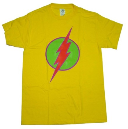 T-Shirt - Bright Flash Logo