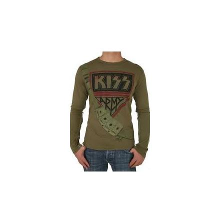 Premium Size Small Trunk Ltd. Kiss Army Long-Sleeved S Rare T-Shirt NEW limited!