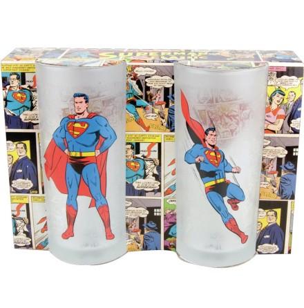 Superman - Glasses set of 2