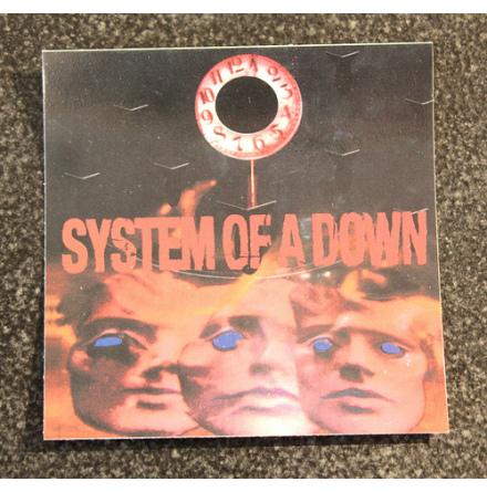 System Of A Down - Face - Klistermärke