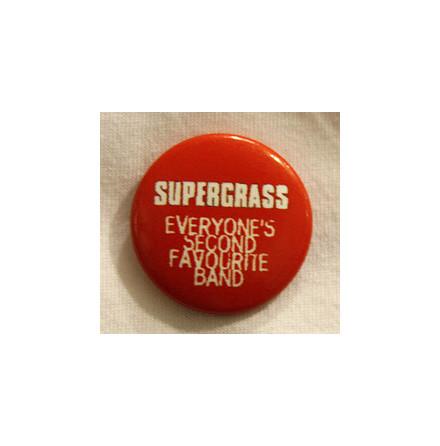 Supergrass - Röd - Badge