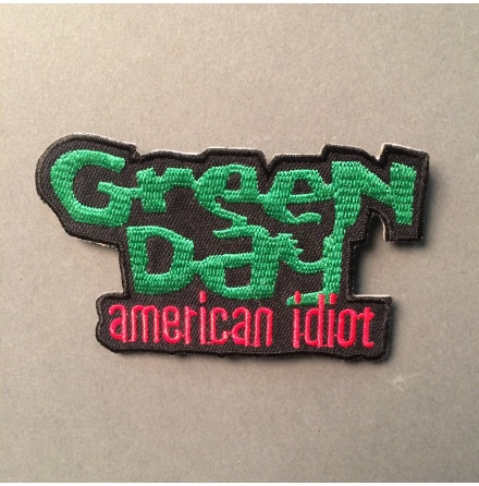 Green Day - American idiot - Tygmärke
