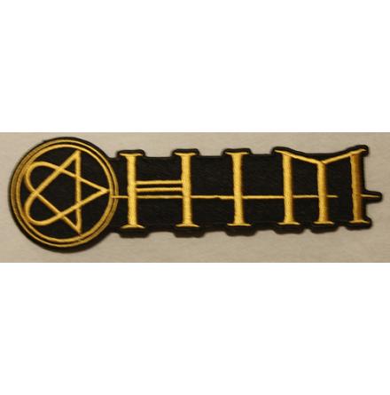 H.I.M - Logo & Hertagram - Tygmärke