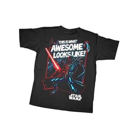 Barn T-Shirt - Awesome Vader