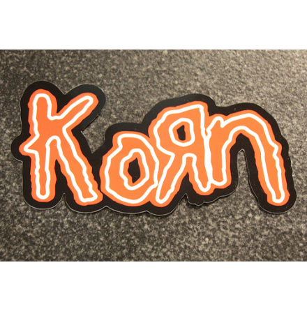 Korn - Logo - Klistermärke