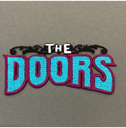 The Doors - Logo Turkos - Tygmärke