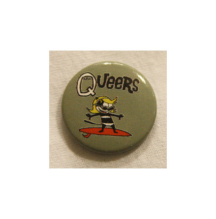 Queers - Surfer - Badge