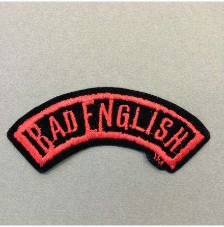Bad English - Logo - Tygmärke