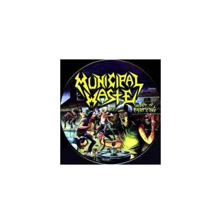 Municipal Waste - Art Of Partying - pic disc
