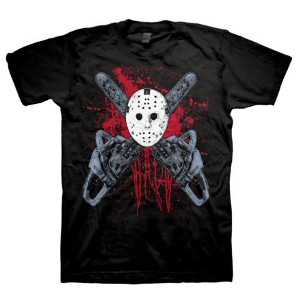T-Shirt - Crossed Chainsaws