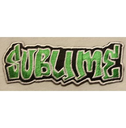 Sublime - Logo - Tygmärke