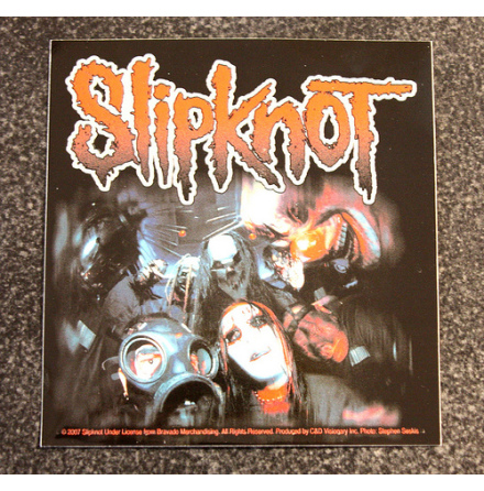 Slipknot - Masks - Klistermärke