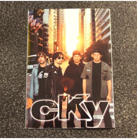 CKY - Bandbild - Klistermärke