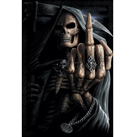 Bone Finger - Poster