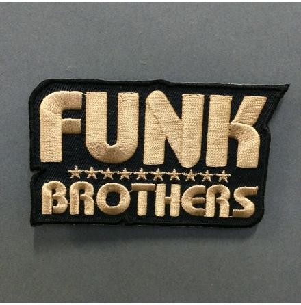 Funk Brothers - Svart/Guld - Tygmärke