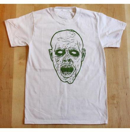 T-Shirt - Face - Vit/Grön
