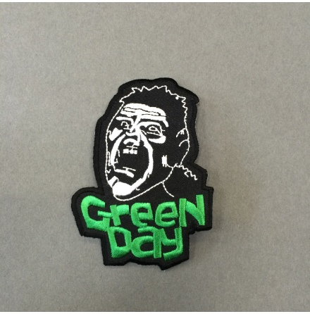 Green Day - Tygmärke