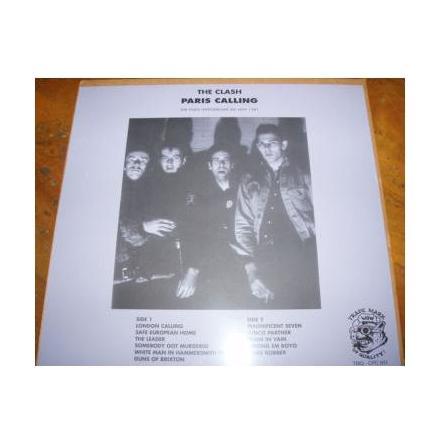 LP - The Clash - Paris Calling