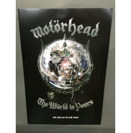 Motörhead - The Wörld is. Poster