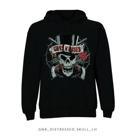 Hood - Distressed Skull