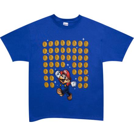 T-Shirt - Mario Coins